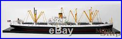 US Navy Liberty Cargo Ship EC2-S-C1 WWII Waterline Model 33 Display Ready