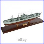 US Navy Liberty Cargo Ship Merchant Marine Desk Top Display 1/92 Boat WW2 Model