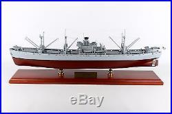 US Navy Liberty Class Naval Cargo Ship Desk Top Display Boat WW2 ES 1/192 Model