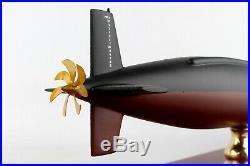 US Navy Los Angeles Class SSN Desk Display Submarine Ship 1/192 Wood ES Model