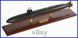 US Navy Los Angeles Class SSN Desk Top Display Submarine Sub Boat 1/192 ES Model