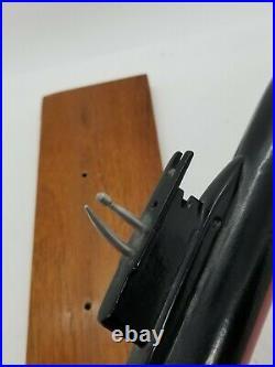 US Navy Los Angeles Desk Display Submarine Ship Solid Cast Metal Model 11 Rare