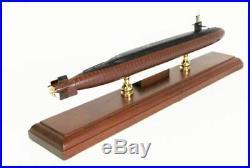 US Navy Navy General Dynamics Ohio Class Submarine MBSOC Wood Model Assembled