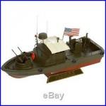 US Navy PBR MK-II Patrol Boat River Desk Top Display Vietnam War 1/24 Ship Model
