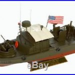 US Navy PBR MK-II Patrol River Boat Vietnam War 12 Model Ship 1/24 Assembled