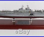 US Navy USS America LHA-6 Amphibious Assault Ship Desk Top Display 1/800 Model