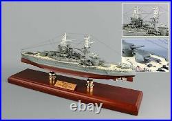 US Navy USS Arizona BB-39 Desk Top Display Battleship Ship 1/350 Boat WW2 Model