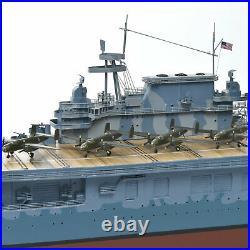 US Navy USS Hornet CV-8 Doolittle Desk Display Aircraft Carrier 1/350 Ship Model