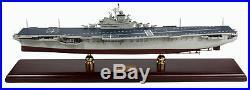 US Navy USS Intrepid CV-11 Desk Top Display 1/350 Aircraft Carrier Ship Model