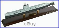 US Navy USS Nautilus SSN 571 Desk Display Submarine Sub Boat 1/150 Ship ES Model