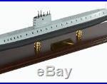 US Navy USS Nautilus SSN 571 Desk Display Submarine Sub Ship 1/150 Boat ES Model