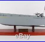 USN LCVP Landing Craft Vehicle Personnel Desk Display 1/24 Boat Ship ES Model