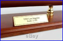USN Los Angeles Class SSN Desk Display Submarine Sub Ship Boat 1/192 ES Model