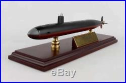 USN Los Angeles Class SSN Desk Display Submarine Sub Ship Boat 1/350 ES Model