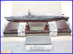 USN USS Gato Desk Top Display Submarine Sub Ship 1/150 Boat ES Model