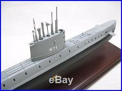 USN USS Nautilus SSN 571 Desk Top Display Submarine Sub Ship 1/150 Boat ES Model