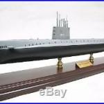 USN USS Nautilus SSN 571 Desk Top Display Submarine Sub Ship 1/150 Boat Model