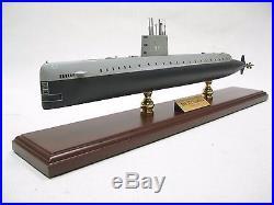USN USS Nautilus SSN 571 Desk Top Display Submarine Sub Ship 1/192 Boat Model