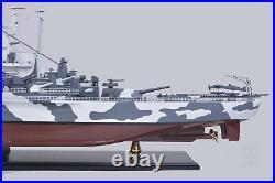 USS Alabama BB-60 SHIP MODEL 42 Large Military Army WW2 Wood Replica Display