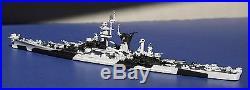 USS Alaska 1944 Customized Neptun 1/1250 metal waterline model