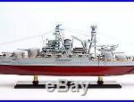 USS Arizona BB-39 Pennsylvania Class Battleship 36 Wood Model War Ship