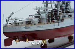 USS Arizona BB-39 Pennsylvania-class Battle Ship 36 Handcrafted Wooden Model