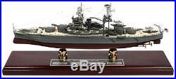 USS Arizona BB-39 Signed By 4 Survivors Desk Display 1/350 WW2 Battleship Model