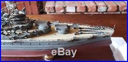 USS Arizona Battleship Franklin Mint 1350 scale
