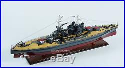 USS Arizona Pennsylvania-class Battleship Wooden Ship Model Scale 1200