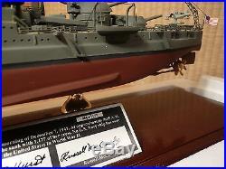 USS Arizona Ship model Franklin Mint Signature Edition 1350 #664/1177PERFECT