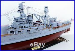 USS Arizona bb-39 Handcrafted War Ship Display Model NEW