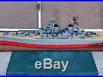 USS BB 63 Missouri Battleship Wood Model 55 Inches Long