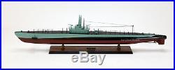 USS Balao Balao-Class Submarine Handmade Wooden Ship Model 39 Museum Quality