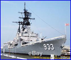 USS Barry DD-933 NAVY DESTROYER HAT PIN USS Forrest ...