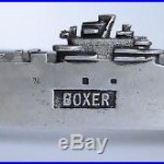 USS Boxer Aircraft Carrier Newport News Shipyard launching ashtray Navy Ship