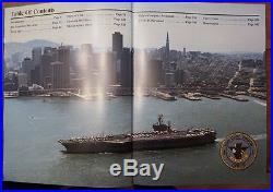 USS CARL VINSON CVN-70 Cruisebook Vol. III 1984-5