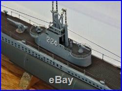 USS COD / SS-224 / Pro-biult display / FREE SHIPPING