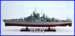 USS California BB-44 Tennessee-class Battleship Ready to Display