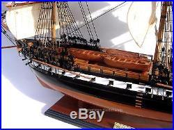 USS Constitution Ship Model by master craftsmen 35 Handmade Wooden Model