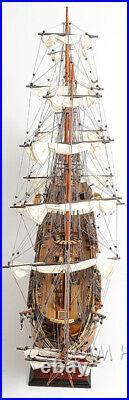 USS Constitution Wooden Model Fully Assembled Museum Quality New