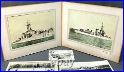 USS Douglas H. Fox DD-779 Destroyer WWII / Postwar Photo Collection Navy Ship