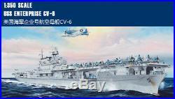 USS ENTERPRISE CV-6 1/350 ship Trumpeter model kit 65302
