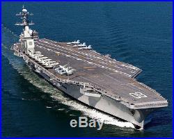 USS Enterprise (CV-80) U. S. Navy Aircraft Carrier Illustration Photo