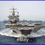 USS Enterprise (CVN 65) transits the Atlantic Ocean 8.5x11 Print