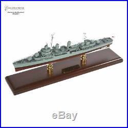 USS FLETCHER CLASS DESTROYER WWII Batleship Wood Model Ship Boat Assembled