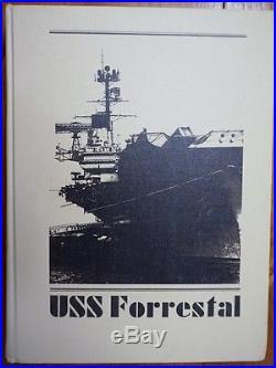 USS FORRESTAL CV-59 Cruisebook of their 1979-80 Mediterranean Deployment