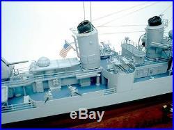 USS Fletcher CLass Destroyer US Navy display custom model boat