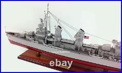 USS Fletcher (DD/DDE-445) Battleship Model 39 Handcrafted Wooden Model NEW