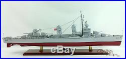 USS Fletcher (DD/DDE-445) Handcrafted War Ship Display Model 39