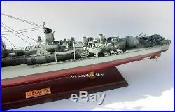 USS Gearing (DD-710) Class Destroyer Battleship Model 31 Handcrafted Wooden NEW